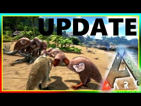 Spotlight TERROR BIRD / GRAPPLING HOOK (ARK Survival Evolved Update & Review)