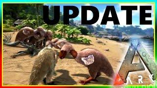 Spotlight TERROR BIRD / GRAPPLING HOOK (ARK Survival Evolved Update & Review)