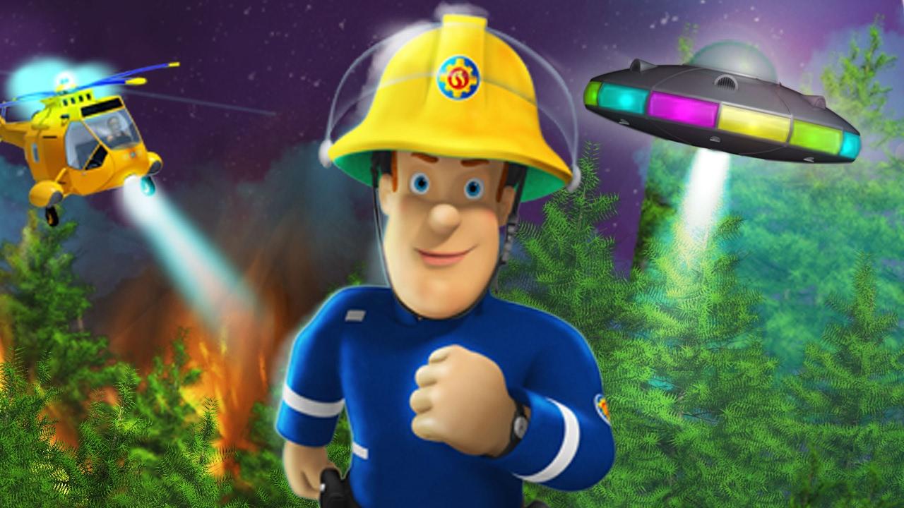 Sam le pompier alerte extraterrestre le film youtube - Sam le pompier personnages ...