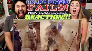 Drunk people fails! - NEW Funny Compilation! - REACTION!!!