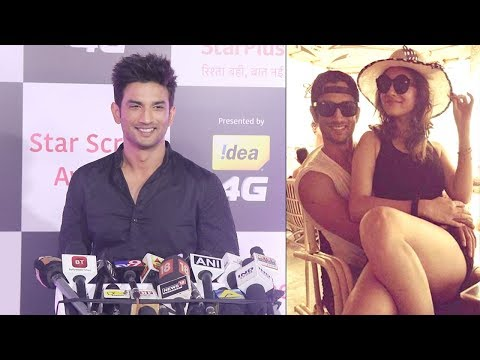 Sushant Singh Rajput Blushes Talking about getting back with Ex-Girlfriend Ankita Lokhande