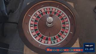 2019-07-15 - 30 Minutes of Roulette Wheel Spins [Session 3]