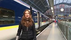 Taking the Eurostar to the Alps