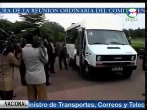 Viaje de Teodoro Obiang Nguema Mbasogo a Brazzavile y Yaounde (1994)