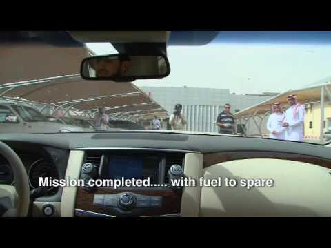 All-new 2010 Nissan Patrol Single Fuel Tank Run: From UAE Capital Abu Dhabi to Saudi Capital Riyadh