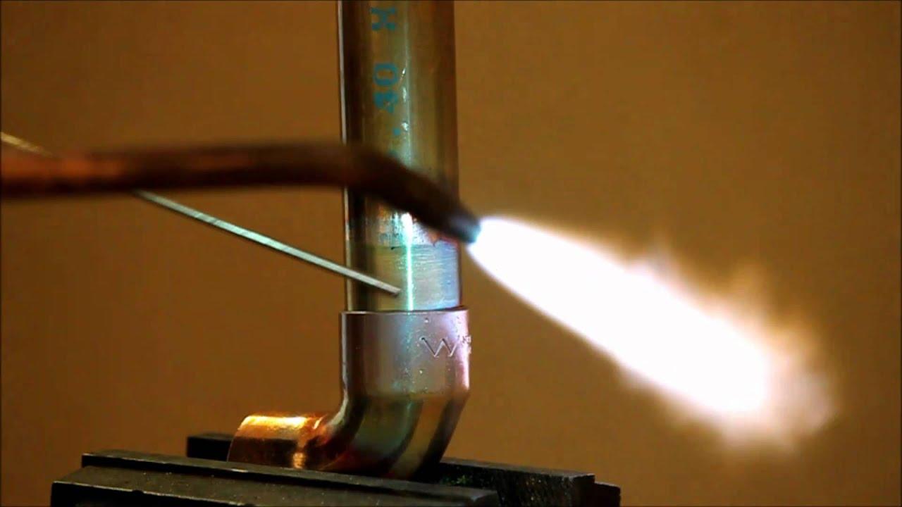 Brazing Soldering Copper Pipe Tube Youtube