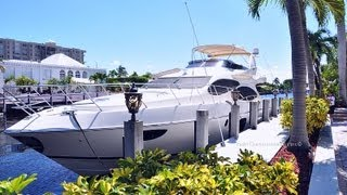 70 Azimut with Jet Ski Yacht Rental in Miami