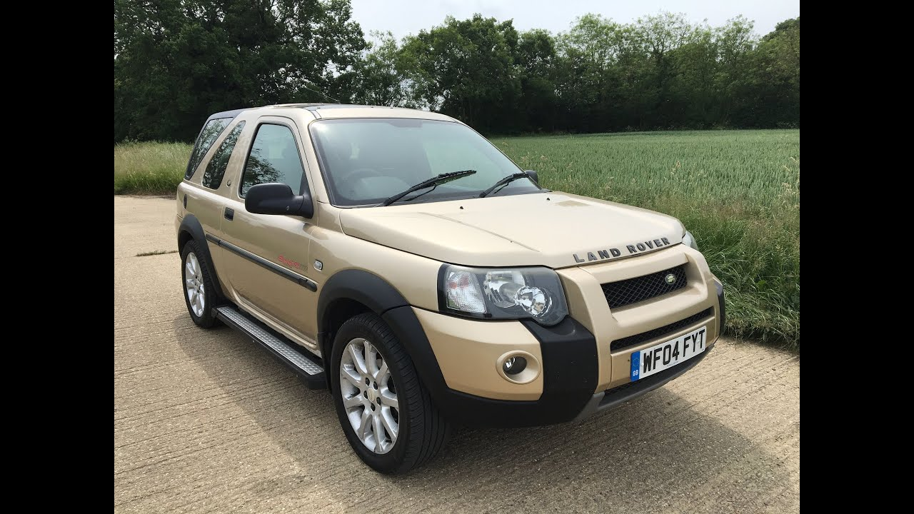 2004 land rover freelander td4 2 0 diesel 4x4 suv video review youtube. Black Bedroom Furniture Sets. Home Design Ideas