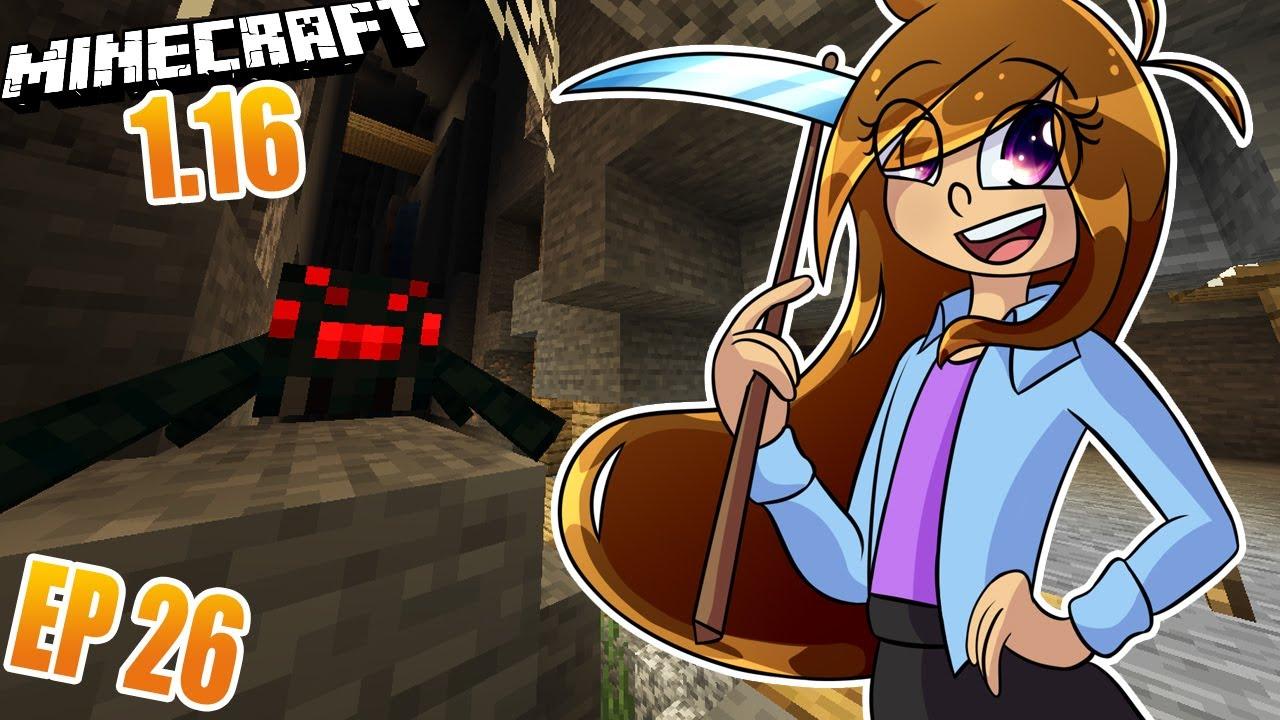 Mina Escalofriante - Mundo Ana Pa Survival Minecraft 1.16 |#26