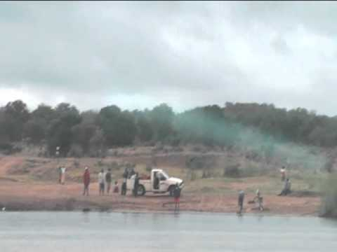 Crossing the Flooded Limpopo River 1