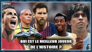 QUI EST LE MEILLEUR JOUEUR DE L'HISTOIRE ? (Pelé, Maradona, Messi, Ronaldo, Cristiano)