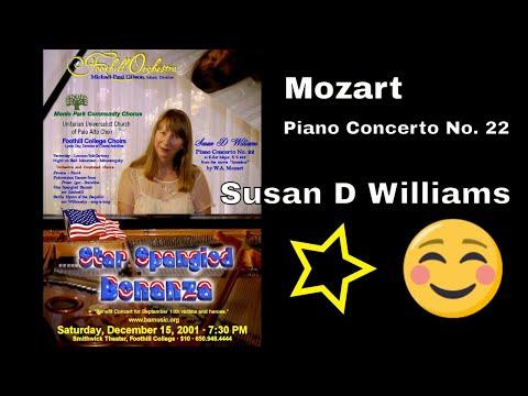 Mozart:  Piano Concerto No. 22 in E-flat Major with Susan D Williams