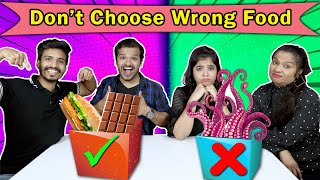 Don't Choose The Wrong Food Challenge | Hungry birds