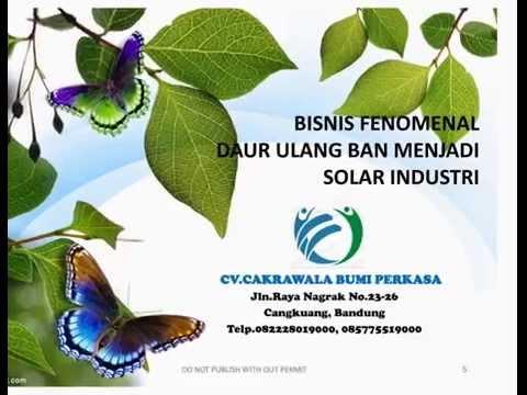 Proposal Ban Bekas Menjadi Solar Industri
