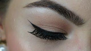 Eyeliner ziehen I Einfąches Lidstrich Tutorial (für Anfänger)