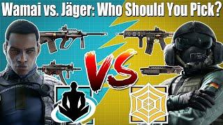 Wamai vs. Jäger: Who is better? - Rainbow Six Siege