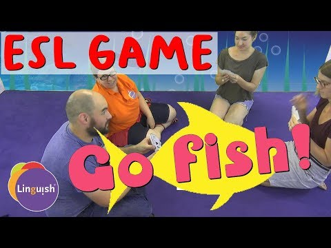 Linguish ESL Games // Go Fish! // LT63