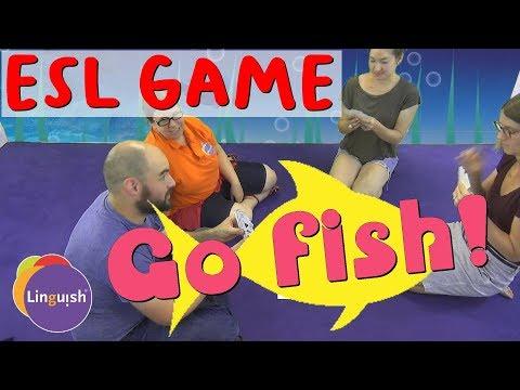Linguish ESL Games // Go Fish! // LT63