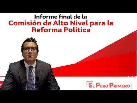 CHRISTIAN HUDTWALCKER - LAS PROPUESTAS PARA LA REFORMA POLITICA
