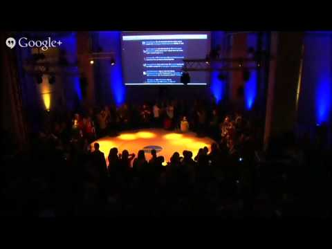 Rap battle in the European parlement by EU40 & MTV voices