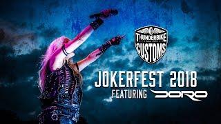 Jokerfest DORO Interview by Jessica Behlau Moderation for Thunderbike Harley-Davidson