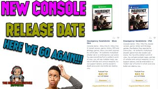 Insurgency Sandstorm New Conṡole Release Date Here We Go Again