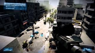 Battlefield 3 (PC) HD 1080p Gameplay #1 Highest Graphics