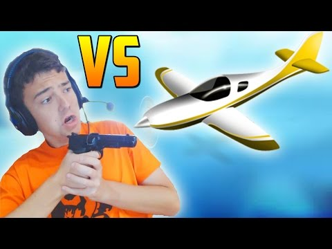 AVIONES vs SNIPERS ��TIRACO INCREIBLE!! - Gameplay GTA 5 Online Funny Moments (GTA V PS4)