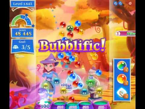 Bubble Witch Saga 2 Level 1643 - NO BOOSTERS (CLOSER TO PAY2WIN-VERSION)