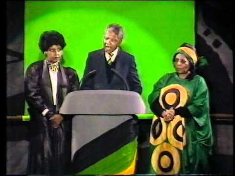 NELSON MANDELA: SPEECH LIVE [1990] [PART 2]