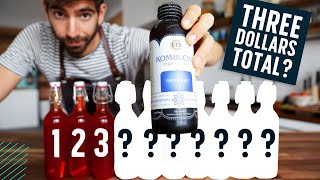 Brewing 10 Bottles of Kombucha for the Price of One?