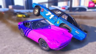 THE CRAZIEST TRACK MOD EVER! FLATOUT 2 SPEEDBOWL DESTRUCTION! - Next Car Game Wreckfest UPDATE