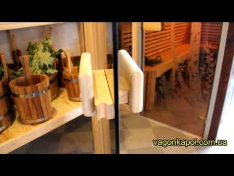 Восстановление бани часть 13 дверь в парилку