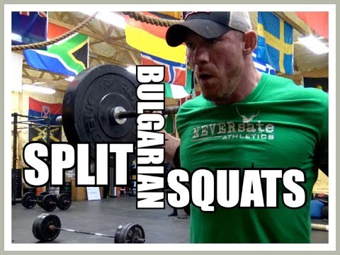 A Case for the Bulgarian SPLIT SQUAT & How to Do Them!