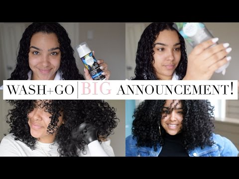 Herbal Essences Wash-N-Go Tutorial + BIG Announcement!