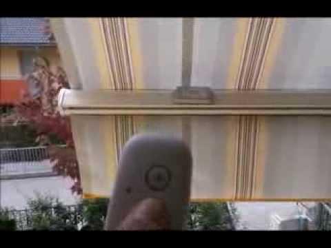 Sensore Vento Per Tende Da Sole.Bach Sensore Vento A Vibrazione Per Tende Da Sole Youtube