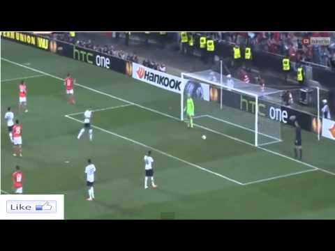 Eder Lima Goal ~ Benfica vs Tottenham 2-2 Europa League 2014 HD
