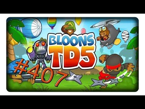 [Coop - Schwer] Dschungel #407 || Let's Play BTD 5 | BLOONS TOWER DEFENSE 5 | Deutsch | German