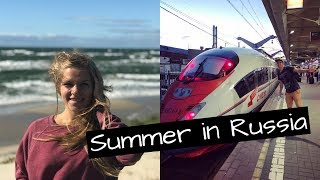 FIRST VLOG EVER. SUMMER IN RUSSIA BEFORE THE JOURNEY