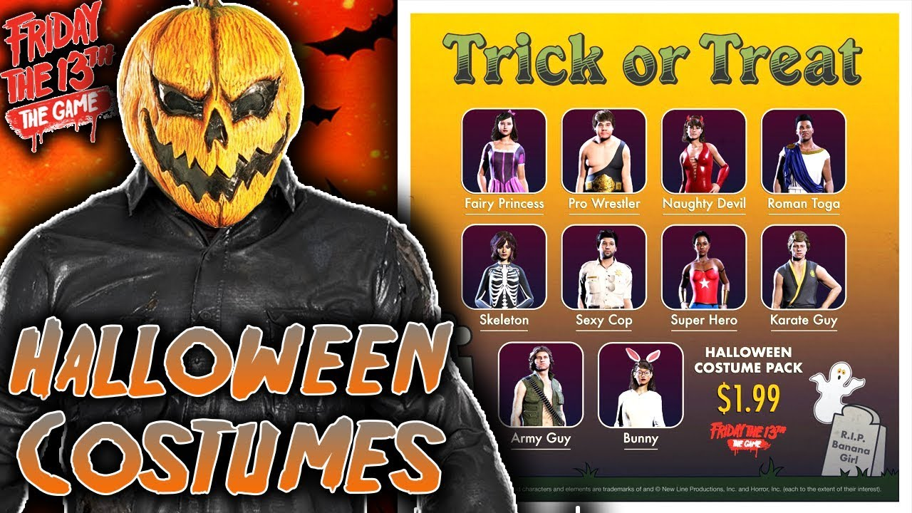F13 HALLOWEEN UPDATE! New Counselors Costumes - Friday the 13th ...