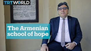 Graduate of a 300-year-old Armenian school