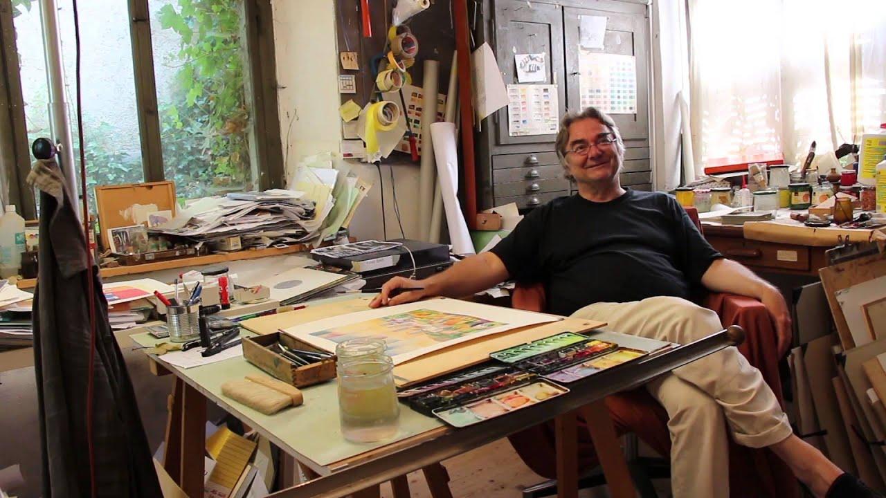 Ateliergespräch mit Jörg Rüesch - YouTube