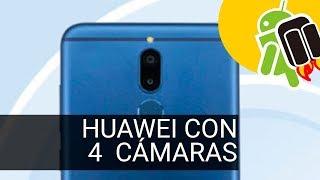 Un nuevo Huawei con cuatro cámaras y pantalla alargada se filtra
