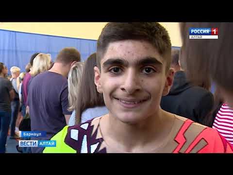 В Барнауле прошли соревнования по спортивной аэробике