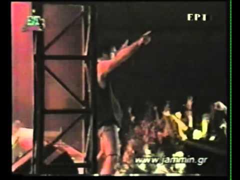 Jammin Greek TV - Bruce Dickinson (w. Adrian Smith) live 13 Dec. 1998, Thessaloniki Greece