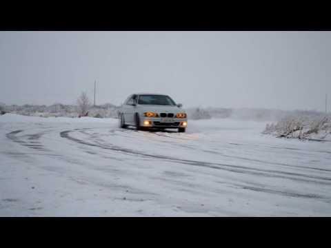 BMW 5 E39 Зимний Дрифт