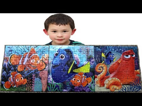 FINDING DORY Puzzle for Toddlers & Kids Disney Dory Nemo Jigsaw Puzzle Game Disney Finding Dory |