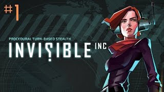 Stumpt Plays - Invisible Inc. - #1 - Spies Like Us (PC Gameplay)