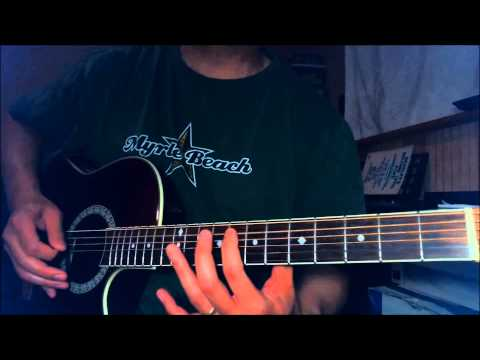 Casting Crowns - Until The Whole World Hears - Intro guitar lesson