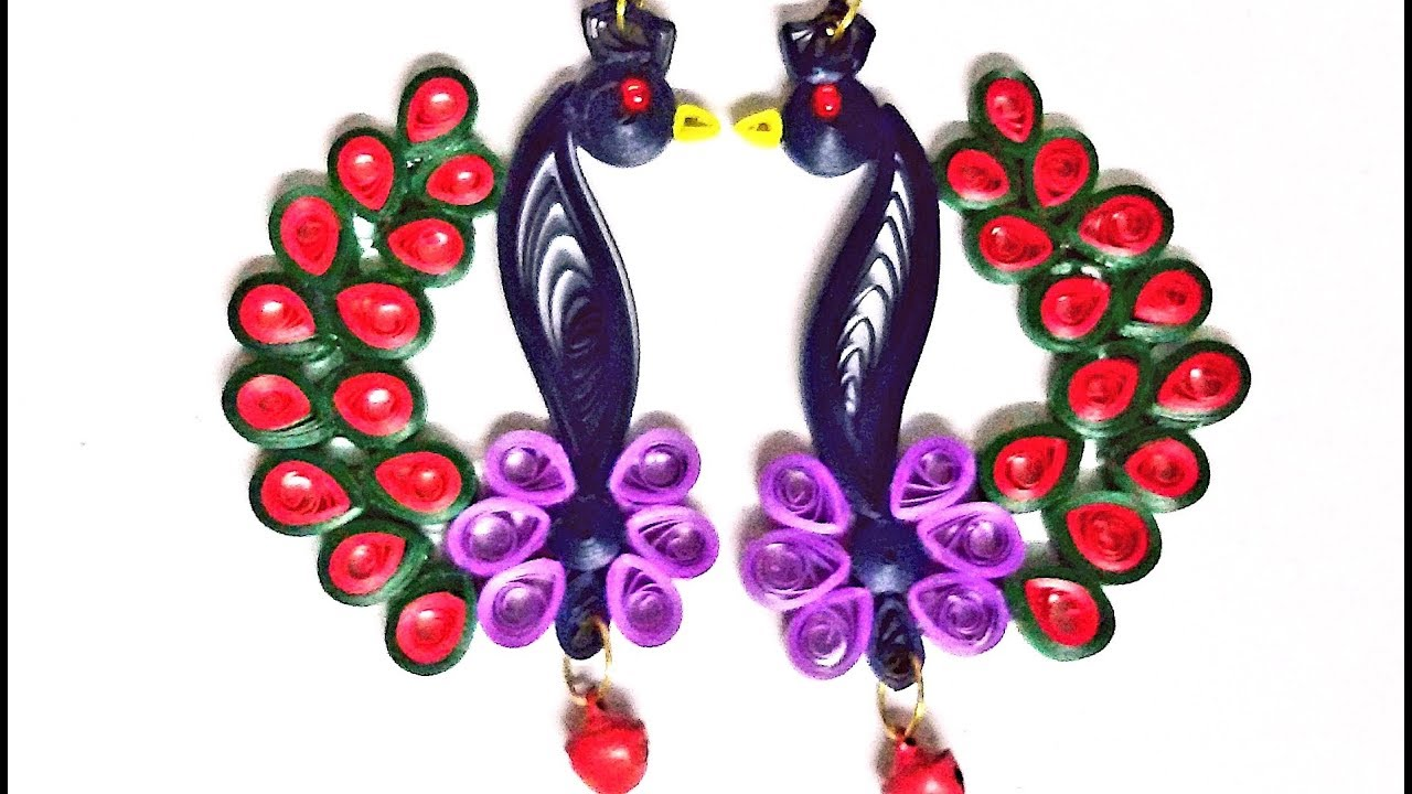 How to make quilling designs for earrings for How to quilling designs